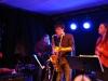 Oskarshamns Folkhögskolas Bluesband, Söderport 2012-03-31. Foto Jimmy Thorell
